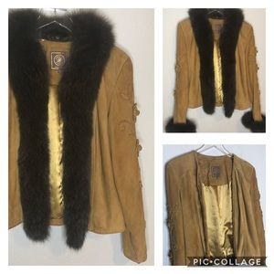 Double D Ranch convertible leather jacket